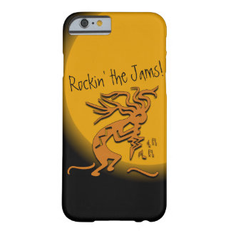 Kokopelli con las ilustraciones de las notas funda barely there iPhone 6