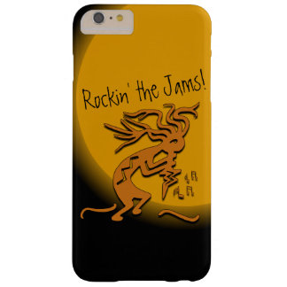 Kokopelli con las ilustraciones de las notas funda barely there iPhone 6 plus
