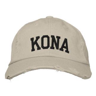 Kona bordó el gorra