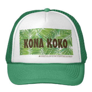 Kona Koko- Papale verde Gorros