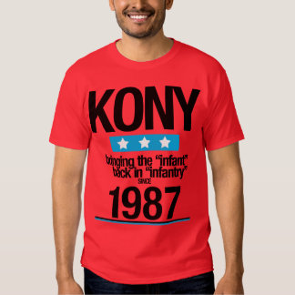 KONY 1987 CAMISETA