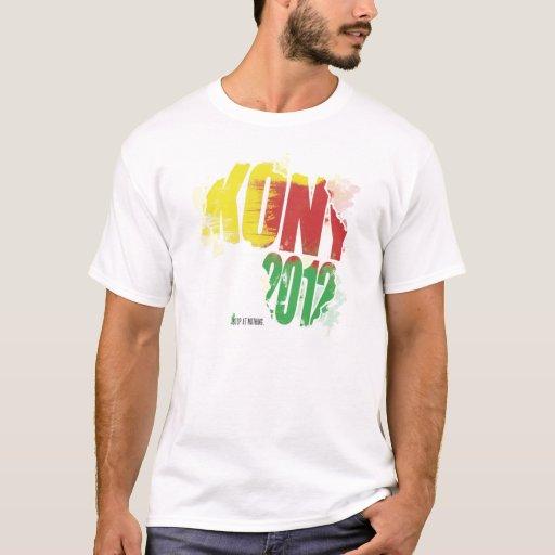 Kony 2012 camiseta
