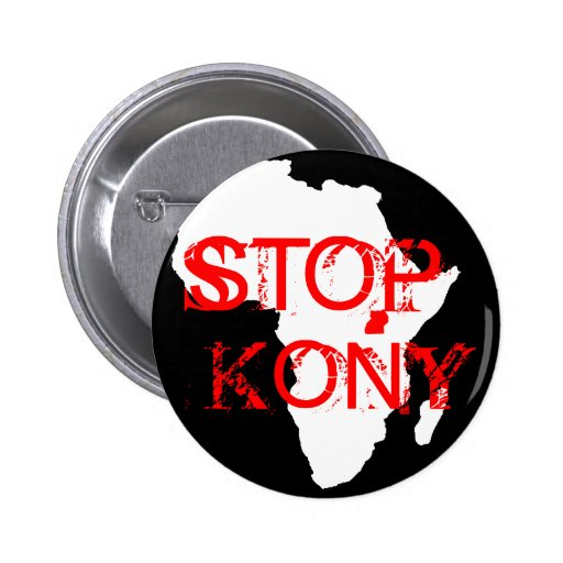 Kony 2012 pin