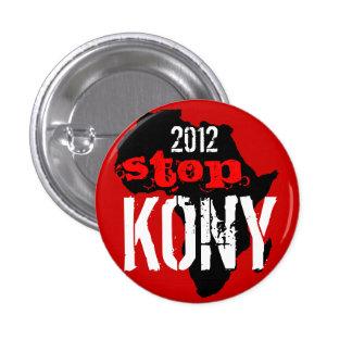 Kony 2012 chapa redonda de 2,5 cm