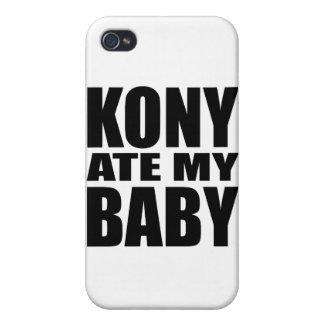 Kony 2012 iPhone 4 carcasas