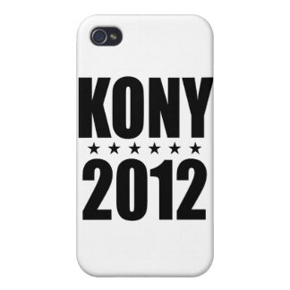 Kony 2012 iPhone 4 fundas