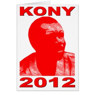 Kony 2012. Haga a los niños invisibles visibles. A Tarjeta Pequeña