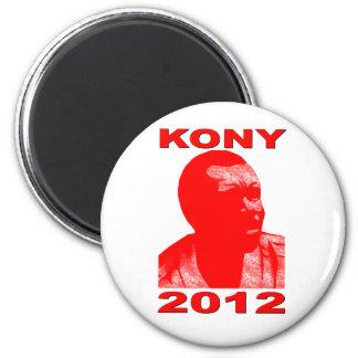 Kony 2012. Haga a los niños invisibles visibles. Imán Redondo 5 Cm