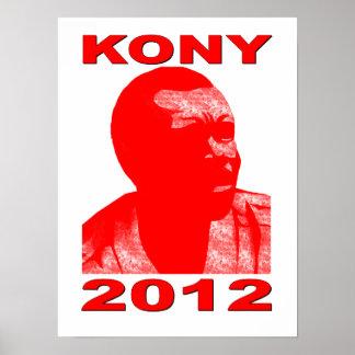 Kony 2012. Haga a los niños invisibles visibles. Póster