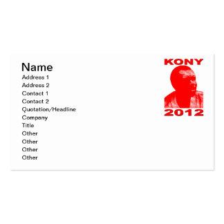 Kony 2012. Haga a los niños invisibles visibles. Tarjetas De Visita