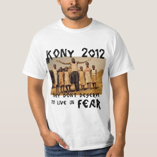 KONY 2012 - Pare el miedo Camiseta