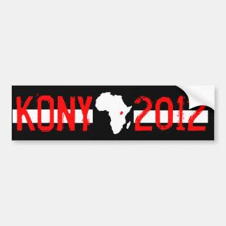 Kony 2012 pegatina de parachoque