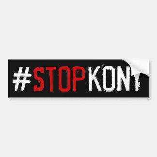 Kony 2012 pegatina para coche