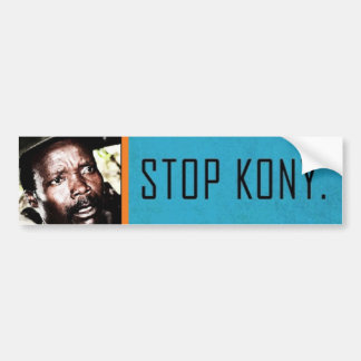 Kony 2012 (pegatina para el parachoques) etiqueta de parachoque