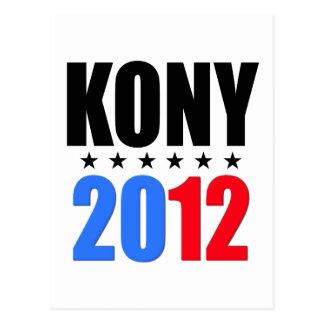 Kony 2012 postal