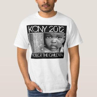 KONY 2012 - Proteja a los niños Camiseta