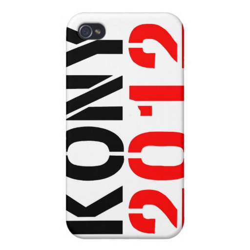KONY i 2012 iPhone 4 Fundas