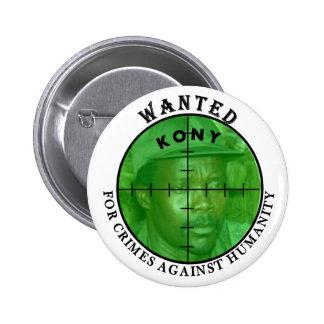 Kony quiso: Para el botón de los crímenes