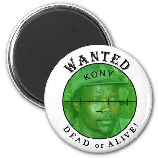 Kony quiso: Para el imán de los crímenes
