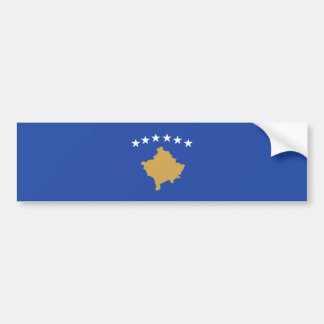 Kosovo - bandera kosovar pegatina para coche