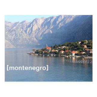 Kotor, postal de Montenegro