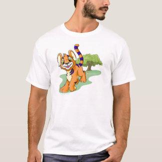 Kougra anaranjado aventurero en la isla del camiseta