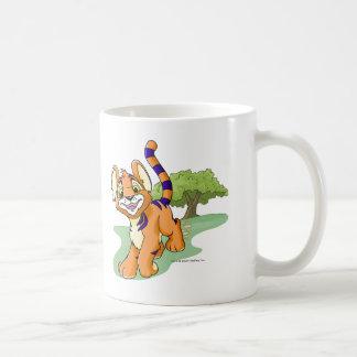 Kougra anaranjado aventurero en la isla del taza