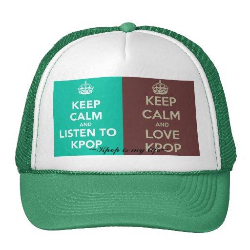 Kpop es mi Life~ Gorros Bordados