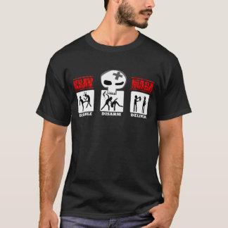 Krav Maga - pequeños iconos 3D Camiseta