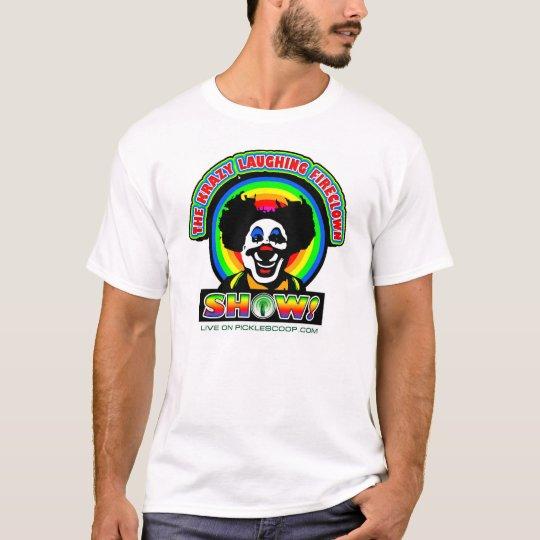 Krazy que ríe la camiseta de FireClown