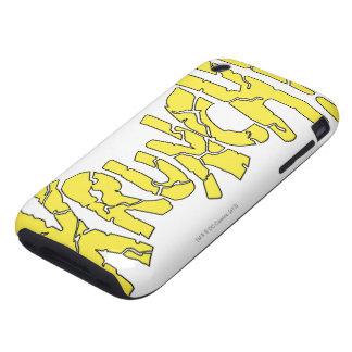 ¡KRUNCH! iPhone 3 TOUGH CÁRCASAS