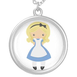 KRW Alicia en collar de la plata esterlina del