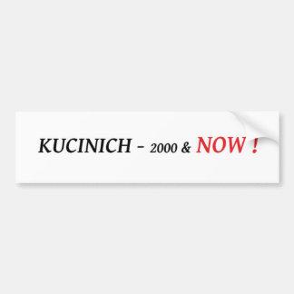 Kucinich para el presidente pegatina para el parac pegatina para coche