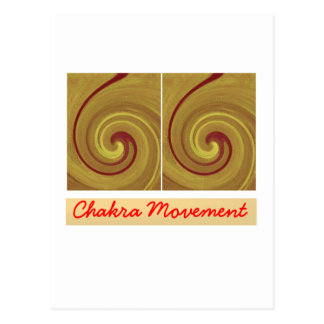 Kundalini que despierta el movimiento de Chakra Postal