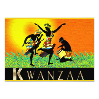 Kwanzaa Invitación 12,7 X 17,8 Cm