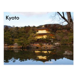 Kyoto, Japón, postal