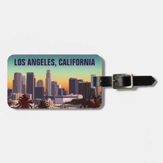 L.A. céntrico California Etiqueta Para Maletas