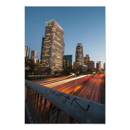 L.A. velocidad del puente Arte Con Fotos