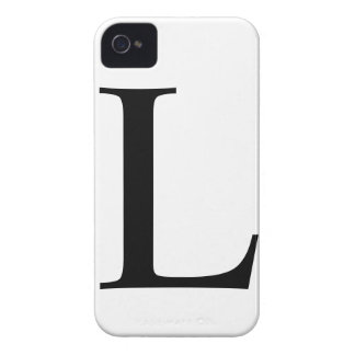 L inicial caso del iPhone 4/4S Barely There iPhone 4 Carcasas