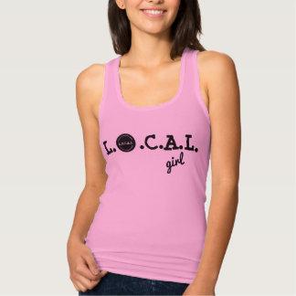 L.O.C.A.L. camisa del chica