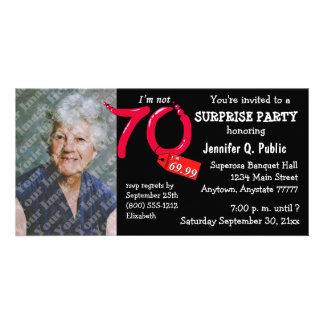 La 70.a foto de la fiesta de cumpleaños de la sorp tarjetas personales