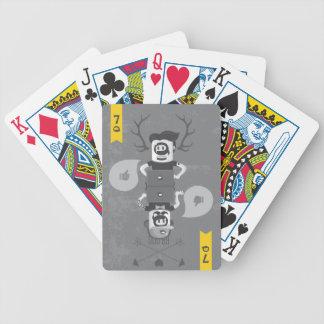 La 7ma cámara - tarjetas baraja de cartas bicycle