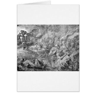 La abducción de toros de Peter Paul Rubens Tarjeta De Felicitación