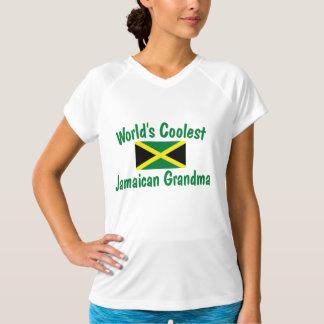 La abuela jamaicana más fresca camisetas