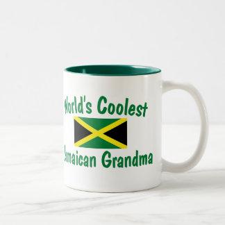 La abuela jamaicana más fresca taza de dos tonos