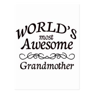La abuela más impresionante del mundo postal