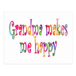 La abuela me hace feliz postales