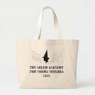 La academia de Salem para las brujas jovenes Bolsa Tela Grande