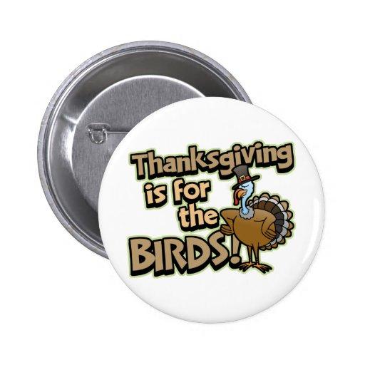 La acción de gracias está para el botón de los páj pin