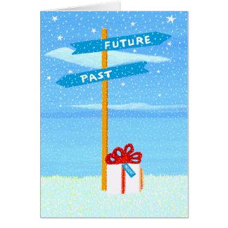 La actual tarjeta de felicitación de Rino Li Causi